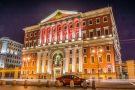 Архитектурное освещение здания Правительства Москвы