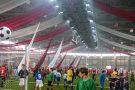 Освещение крытого футбольно-атлетического манежа Центрального стадиона, г. Казань