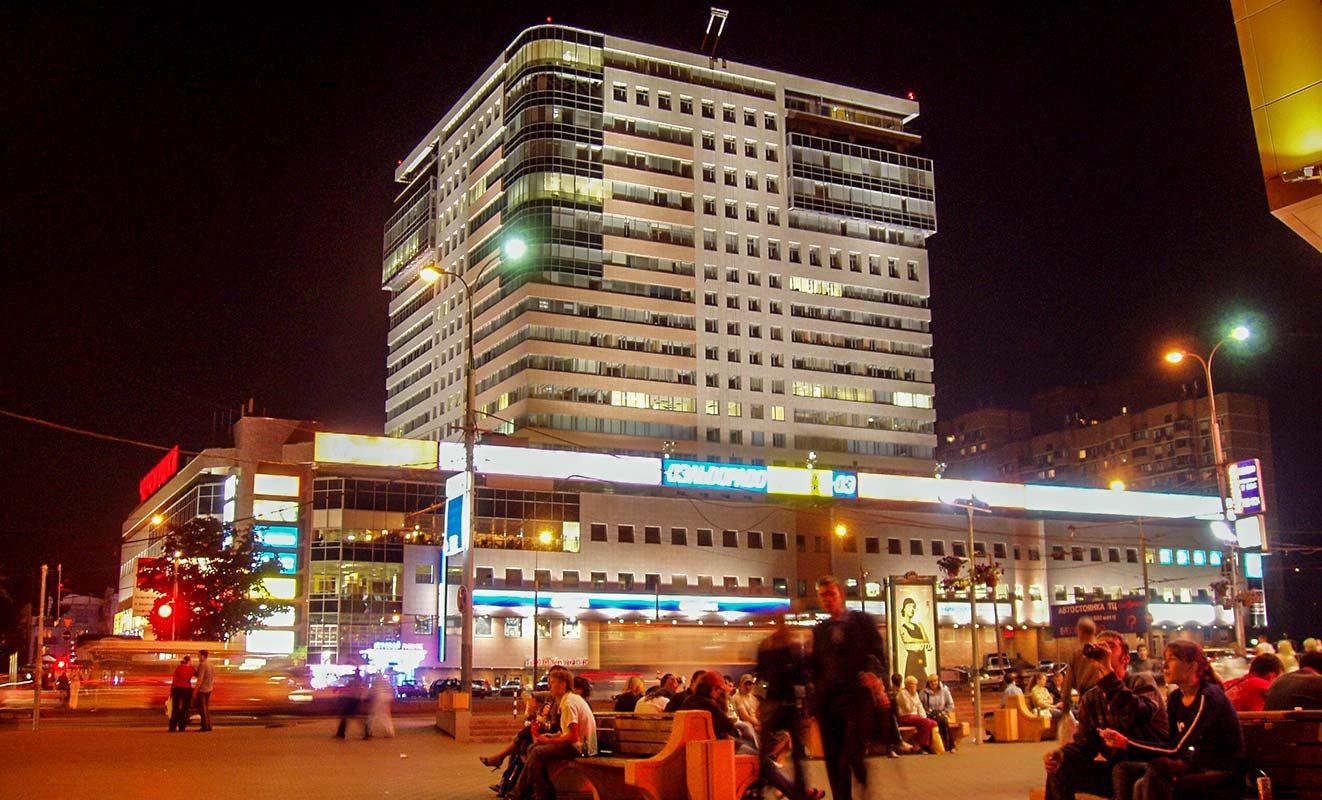 6b6ea884 Архитектурное освещение торгового центра Черёмушки, г. Москва