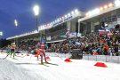 Освещение биатлонного стадиона центра зимних видов спорта Жемчужина Сибири