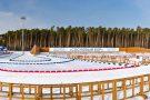 Освещение биатлонного стадиона комплекса Сосновый Бор, г. Заводоуковск