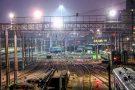 Освещение горловины Казанского вокзала, г. Москва