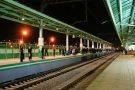 Освещение пассажирской платформы Выхино, Московская Железная Дорога
